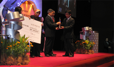 IC MICROSYSTEMS SDN BHD THE TOP WINNER OF MALAYSIA'S SME INNOVATION AWARD 2010