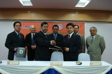 The Signing of a Joint-Venture Agreement between MARA, UniKL and ICmic to Establish ICmic-UniKL Academy